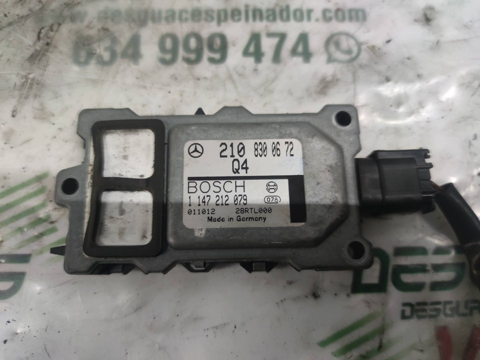 MODULO ELECTRONICO MERCEDES CLASE E (W210) BERLINA DIESEL 220 Diesel (210.004)  2.2 Diesel CAT (75 CV) |   0.95 - ..._img_0