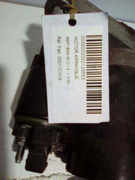 MOTOR ARRANQUE SEAT IBIZA (6L1) 1.2   (64 CV) |   0.02 - ..._img_5