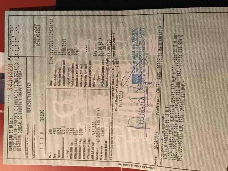 CINTURON SEGURIDAD DELANTERO IZQUIERDO BMW SERIE 3 BERLINA (E90) 320d  2.0 16V Diesel (163 CV) |   12.04 - 12.07_img_5