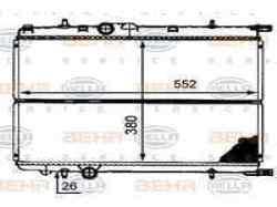 RADIADOR AGUA PEUGEOT 206 BERLINA XT  2.0 HDi CAT (90 CV) |   12.99 - 12.05_mini_3