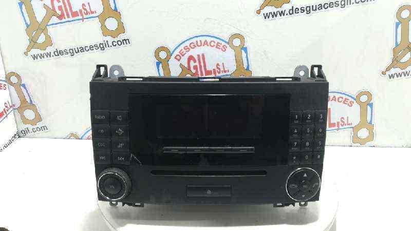 SISTEMA AUDIO / RADIO CD MERCEDES CLASE A (W169) A 180 CDI (169.007)  2.0 CDI CAT (109 CV)     06.04 - 12.12_img_0