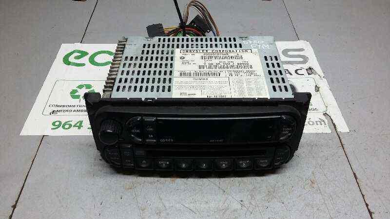 SISTEMA AUDIO / RADIO CD CHRYSLER VOYAGER (RG) 2.8 CRD SE Grand Voyager (D)   (150 CV)     03.04 - 12.08_img_2