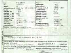 MANETA EXTERIOR PORTON PEUGEOT 206 BERLINA XT  2.0 HDi CAT (90 CV) |   12.99 - 12.05_mini_4