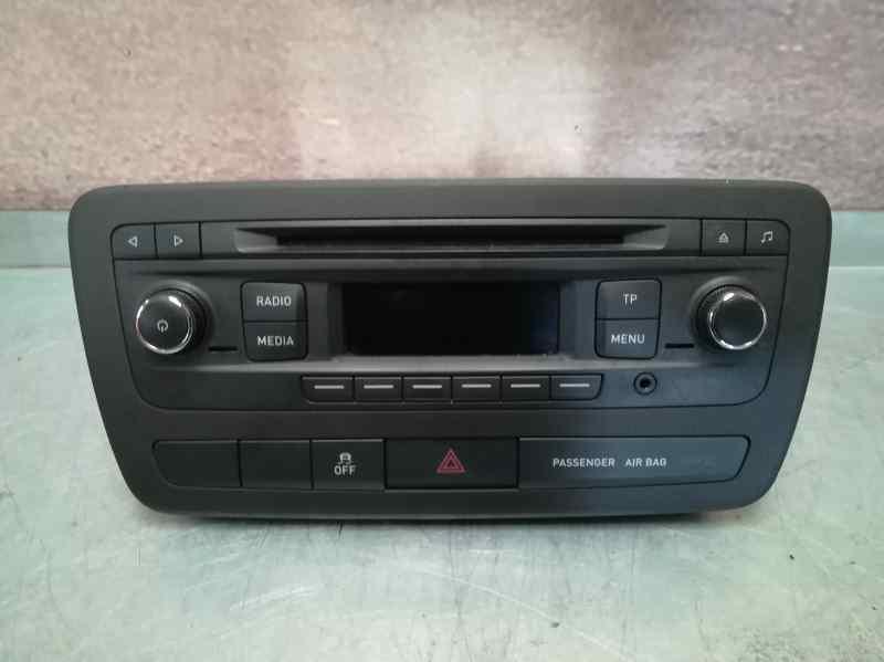 SISTEMA AUDIO / RADIO CD SEAT IBIZA (6J5) Reference I-Tech 30 Aniversario  1.2 12V (69 CV) |   05.14 - 12.15_img_0