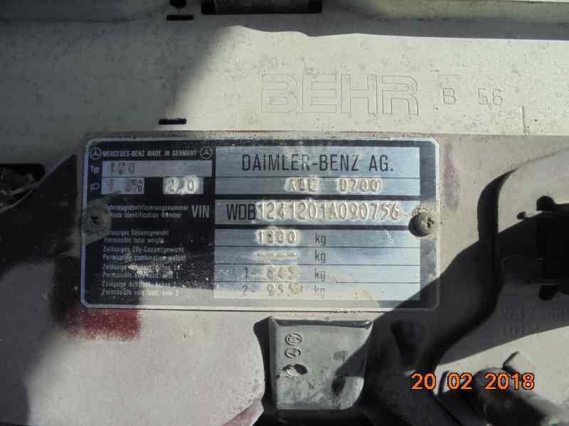 MERCEDES CLASE E (W124) BERLINA D 200 (124.120)  2.0 Diesel (72 CV)     0.84 - ..._img_1