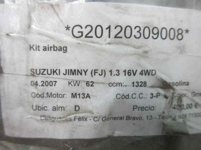 KIT AIRBAG SUZUKI JIMNY SN (FJ) 1.3 16V CAT   (82 CV) |   0.98 - 0.08_img_1