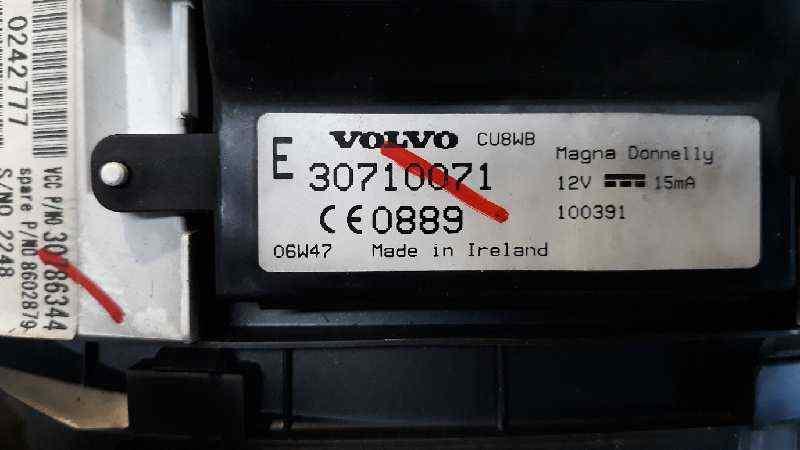 CUADRO INSTRUMENTOS VOLVO S40 BERLINA 2.0 D Momentum   (136 CV)     12.03 - 12.12_img_2