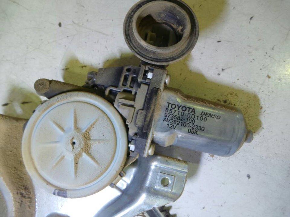 ELEVALUNAS DELANTERO DERECHO TOYOTA YARIS (KSP9/SCP9/NLP9) Básico  1.4 Turbodiesel CAT (90 CV) |   08.05 - 12.08_img_2