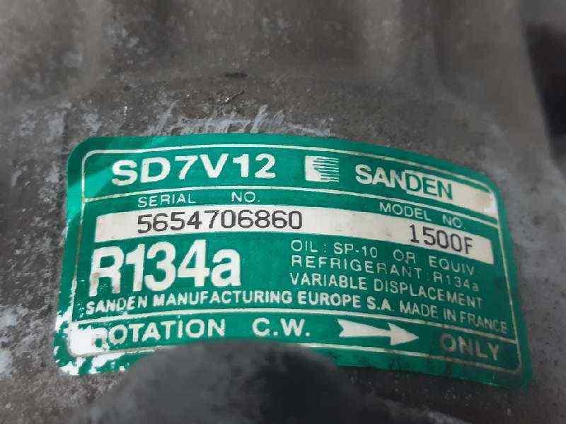 COMPRESOR AIRE ACONDICIONADO PEUGEOT 106 (S2) Kid D  1.5 Diesel CAT (TUD5 / VJX) (57 CV)     0.96 - ..._img_1