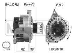 alternador audi a6 berlina (4b2) 2.4 (121kw)   (170 cv) 2001-2004 06C903016