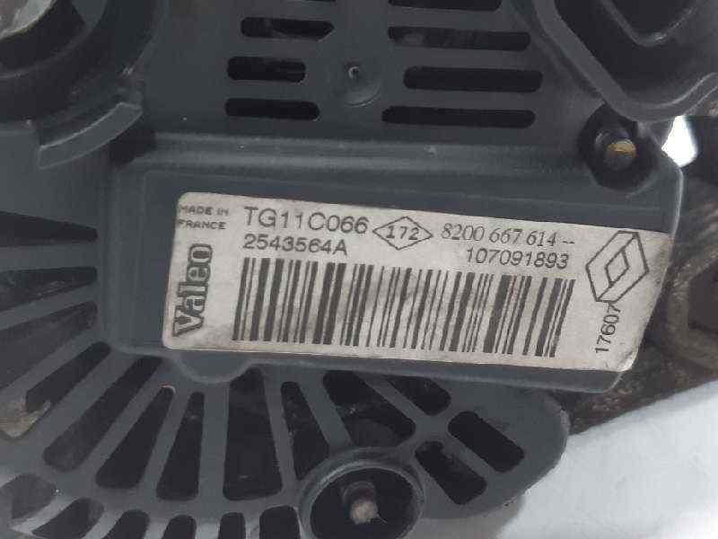 ALTERNADOR RENAULT SCENIC II Emotion  1.5 dCi Diesel CAT (86 CV) |   01.06 - 12.09_img_4
