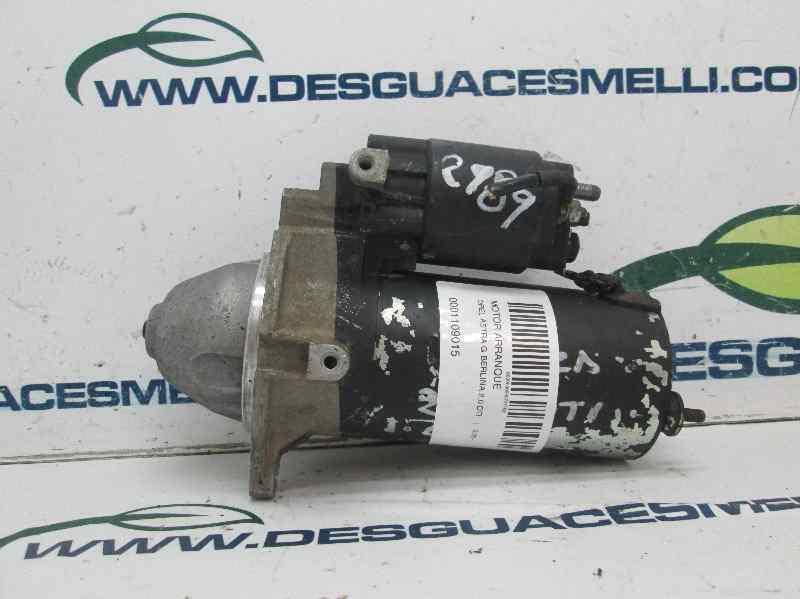 MOTOR ARRANQUE OPEL ASTRA G BERLINA 2.0 DTI   (101 CV) |   0.98 - ..._img_3