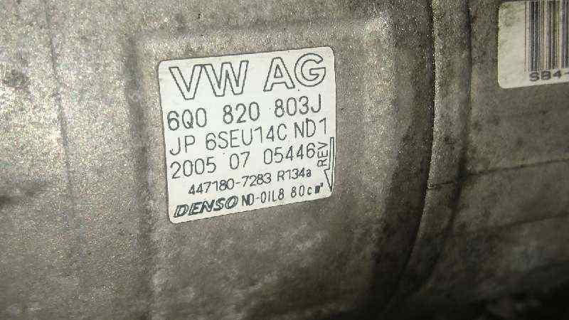 COMPRESOR AIRE ACONDICIONADO SEAT IBIZA (6L1) Reference  1.4 TDI CAT (BNM) (69 CV) |   05.05 - 12.08_img_3
