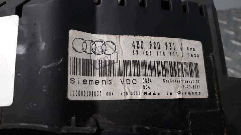 CUADRO INSTRUMENTOS AUDI A8 (4E2) 3.0 TDI Quattro   (233 CV) |   11.03 - 12.10_img_2