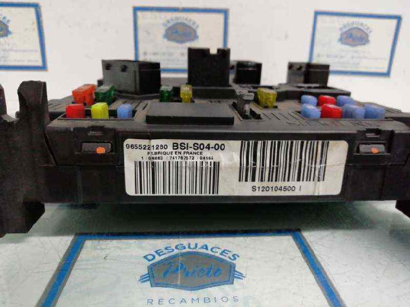 CAJA RELES / FUSIBLES PEUGEOT 407 SR Confort  1.6 HDi FAP CAT (9HZ / DV6TED4) (109 CV) |   05.04 - 12.06_img_1