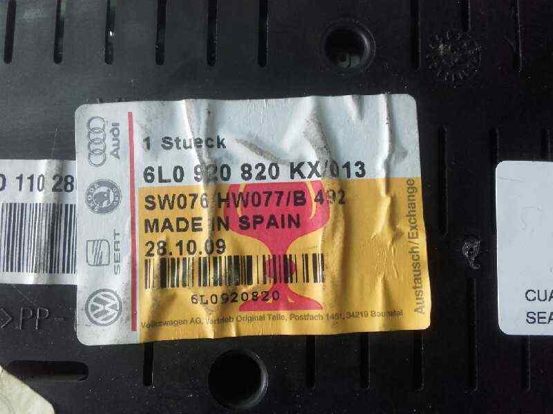 CUADRO INSTRUMENTOS SEAT IBIZA (6L1) *   |   0.01 - 0.09_img_2