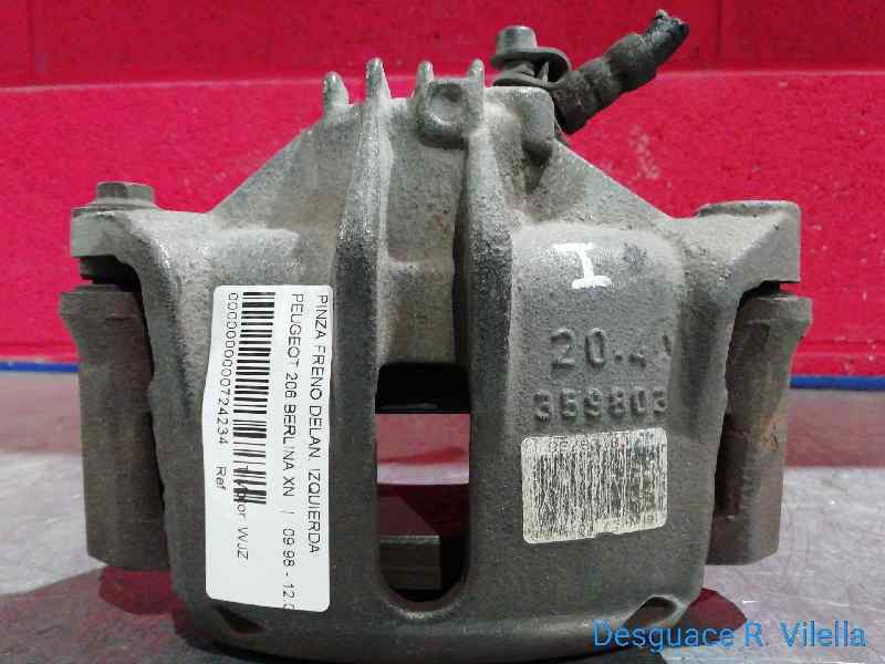 PINZA FRENO DELANTERA IZQUIERDA PEUGEOT 206 BERLINA XN  1.9 Diesel (69 CV) |   09.98 - 12.02_img_3