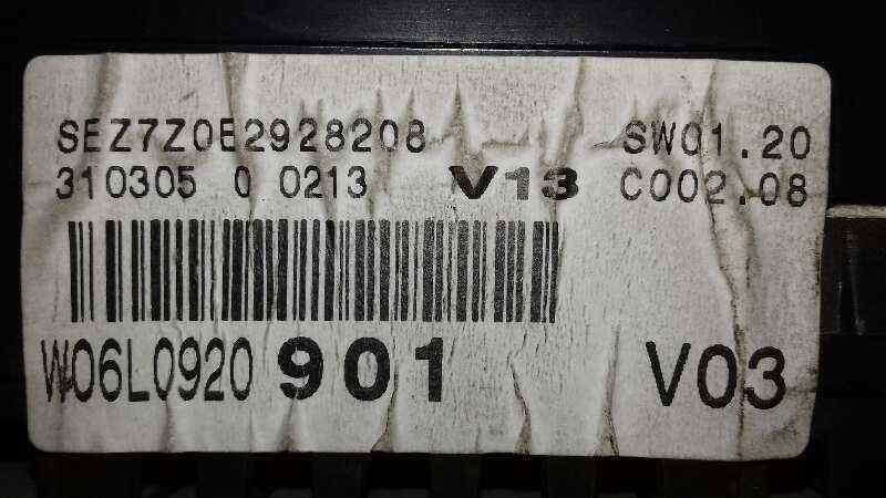 CUADRO INSTRUMENTOS SEAT IBIZA (6L1) 1.4 16V   (75 CV) |   0.02 - ..._img_2