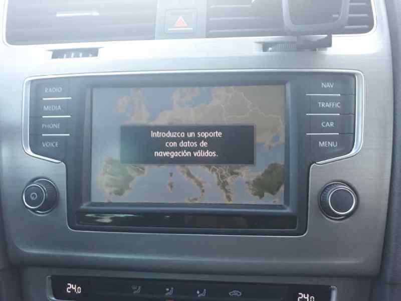 SISTEMA NAVEGACION GPS VOLKSWAGEN GOLF VII SPORTSVAN Advance BlueMotion Tech  1.6 16V TDI DPF (110 CV)     05.14 - 12.15_img_0