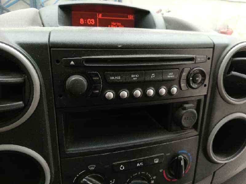SISTEMA AUDIO / RADIO CD CITROEN BERLINGO CUADRO Mixto L  1.6 16V HDi (90 CV)     03.09 - 12.11_img_0