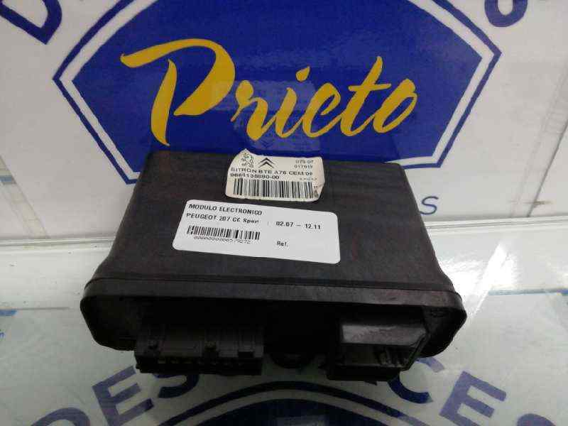 MODULO ELECTRONICO PEUGEOT 207 CC Sport  1.6 16V Turbo CAT (5FX / EP6DT) (150 CV) |   02.07 - 12.11_img_0