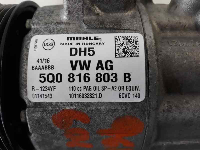 COMPRESOR AIRE ACONDICIONADO VOLKSWAGEN GOLF VII SPORTSVAN Advance BlueMotion Tech  1.6 16V TDI DPF (110 CV) |   05.14 - 12.15_img_2