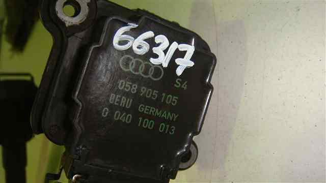 BOBINA ENCENDIDO AUDI A3 (8L) 1.8 T Ambiente   (150 CV) |   12.96 - 12.03_img_1