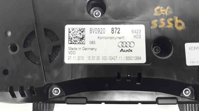 CUADRO INSTRUMENTOS AUDI A3 SPORTBACK (8VA) Ambiente  1.6 TDI (110 CV)     ..._img_4