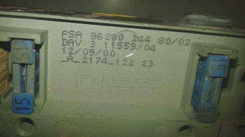 CAJA RELES / FUSIBLES CITROEN XSARA PICASSO 2.0 HDi CAT (RHY / DW10TD)   (90 CV) |   0.99 - 0.11_img_1