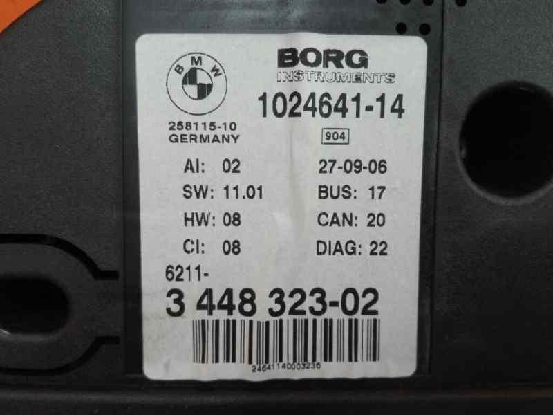 CUADRO INSTRUMENTOS BMW SERIE X3 (E83) 2.0d   (150 CV)     09.04 - 12.07_img_1