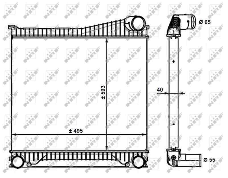 INTERCOOLER LAND ROVER DISCOVERY 4 TDV6 SE  3.0 TD V6 CAT (211 CV) |   ..._img_0