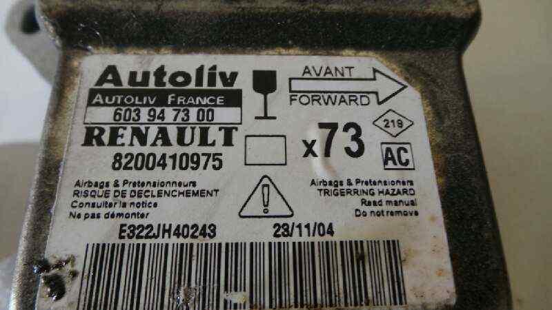 CENTRALITA AIRBAG RENAULT VEL SATIS (BJ0) Grand Confort  2.2 dCi Turbodiesel (150 CV) |   04.05 - 12.06_img_2