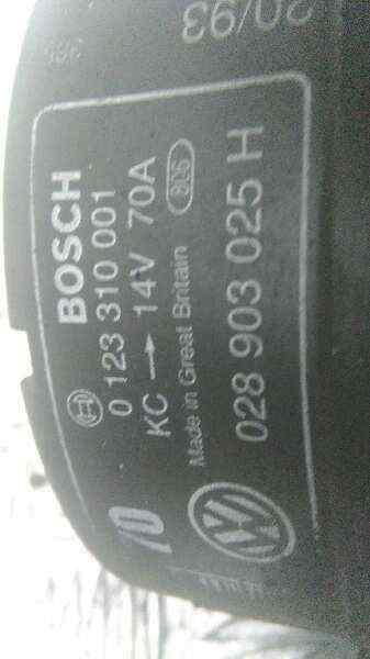 ALTERNADOR VOLKSWAGEN GOLF III BERLINA (1H1) GTI 16V  2.0 16V (150 CV) |   08.92 - 12.98_img_4