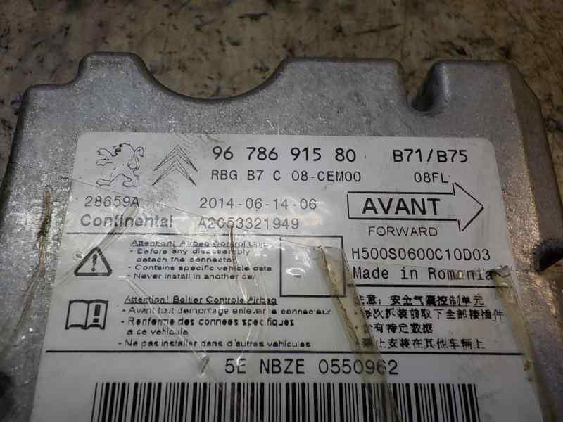 CENTRALITA AIRBAG CITROEN DS4 Design  1.6 e-HDi FAP (114 CV) |   11.12 - 12.15_img_2