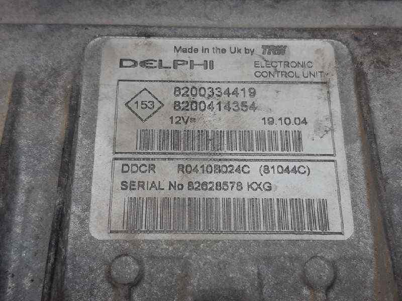 CENTRALITA MOTOR UCE RENAULT SCENIC II Confort Dynamique  1.5 dCi Diesel (101 CV) |   06.03 - 12.05_img_3