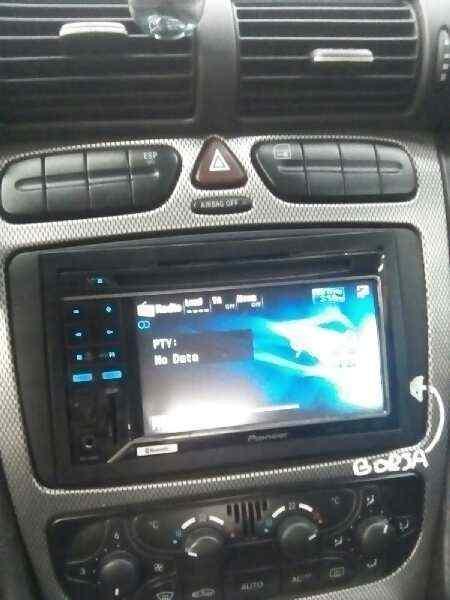 SISTEMA AUDIO / RADIO CD MERCEDES CLASE C (W203) SPORTCOUPE C 220 CDI (203.706)  2.2 CDI CAT (143 CV) |   10.00 - 12.04_img_1