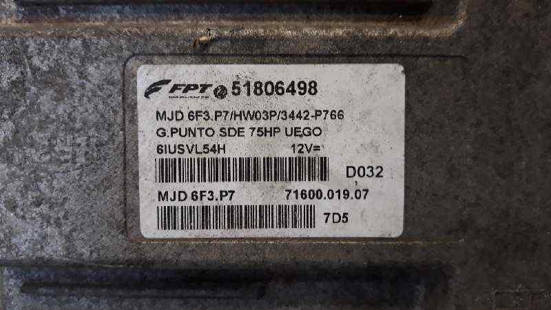 CENTRALITA CHECK CONTROL FIAT GRANDE PUNTO (199) 1.3 16V Multijet Active (55kW)   (75 CV)     09.05 - 12.07_img_1