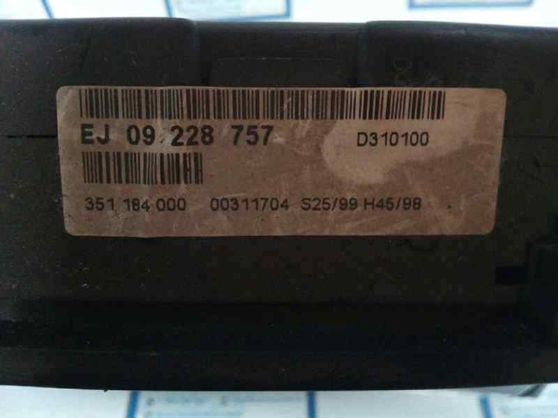 CUADRO INSTRUMENTOS OPEL ZAFIRA A Elegance  2.0 16V DI CAT (X 20 DTL / LD3) (82 CV) |   02.99 - 12.00_img_1