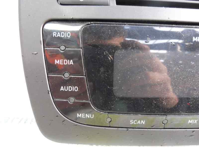 SISTEMA AUDIO / RADIO CD SEAT IBIZA (6J5) Stylance / Style  1.4 16V (86 CV) |   02.08 - 12.13_img_2