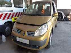 renault scenic ii confort authentique  1.9 dci diesel (120 cv) 2003-2005 F9Q812 VF1JMRG0629