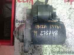 motor arranque seat ibiza (6k1) sport  1.9 tdi (90 cv) 1999-2002 02A911023R
