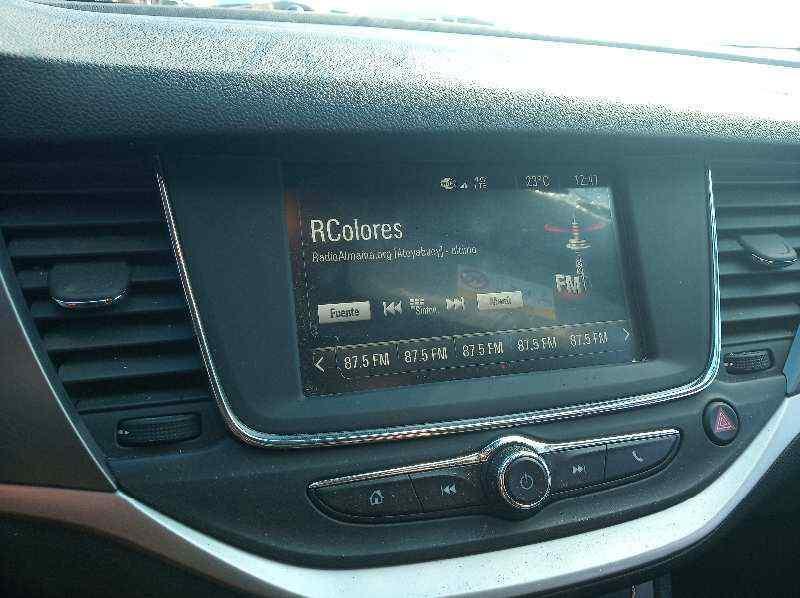 SISTEMA AUDIO / RADIO CD OPEL ASTRA K LIM. 5TÜRIG (09.2015->) Selective Start/Stop  1.4 16V SIDI Turbo (125 CV) |   ..._img_1