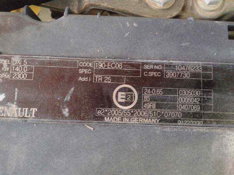 MOTOR COMPLETO RENAULT MIDLUM 190 DXI   |   ... _img_4