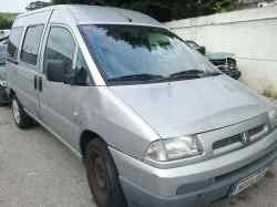 citroen jumpy 2.0 hdi sx familiar (5/6 asientos)   (109 cv) 2000- RHZ VF7BARHZA12