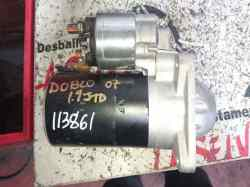 motor arranque fiat doblò (119) 1.9 8v dynamic / multijet dynamic plus (77kw)   (105 cv) 2005-2010 CGB23314