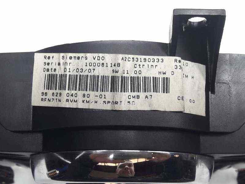 CUADRO INSTRUMENTOS PEUGEOT 207 XS  1.6 16V (120 CV) |   03.07 - 12.07_img_1