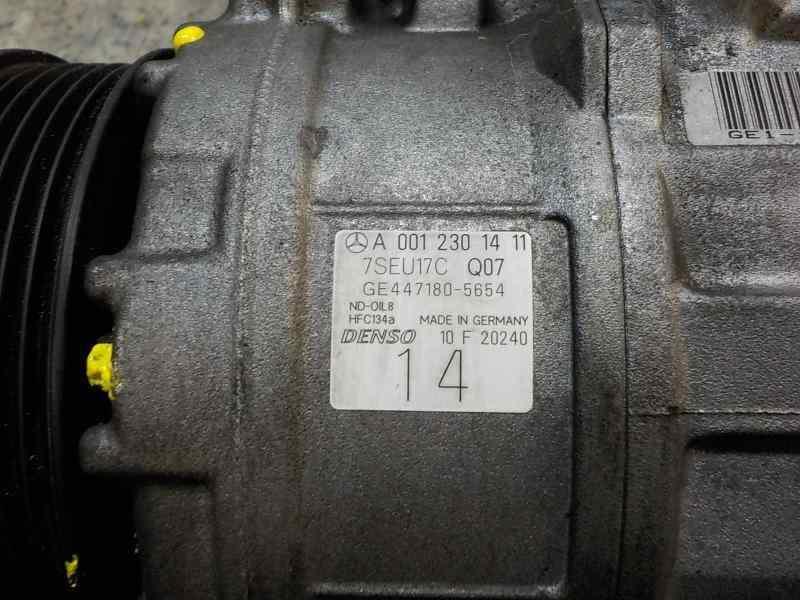 COMPRESOR AIRE ACONDICIONADO MERCEDES CLASE E (W211) BERLINA E 350 (211.056)  3.5 V6 CAT (272 CV) |   10.04 - 12.09_img_3