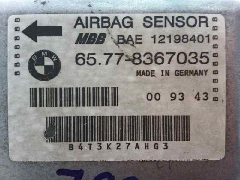CENTRALITA AIRBAG BMW SERIE 3 BERLINA (E36) 325tds  2.5 Turbodiesel CAT (143 CV) |   09.93 - 12.98_img_2