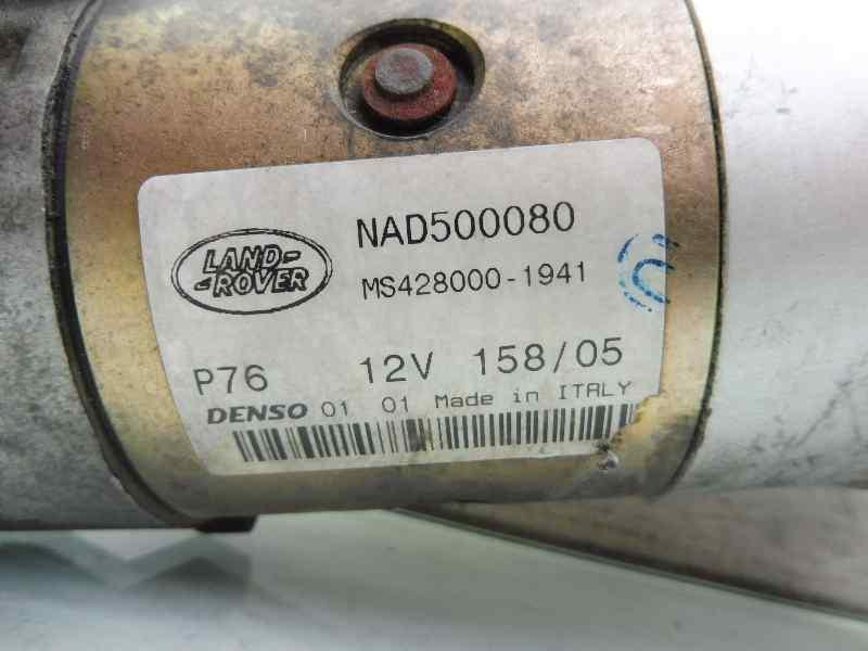 MOTOR ARRANQUE LAND ROVER DISCOVERY (...) V6 TD S  2.7 Td V6 CAT (190 CV) |   08.04 - 12.09_img_3