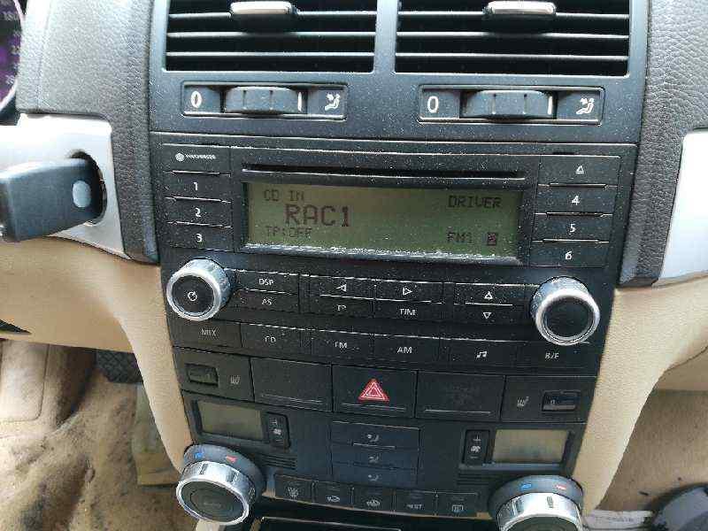 SISTEMA AUDIO / RADIO CD VOLKSWAGEN TOUAREG (7L6) TDI V6 +Motion  3.0 V6 TDI DPF (239 CV)     10.07 - 12.10_img_0